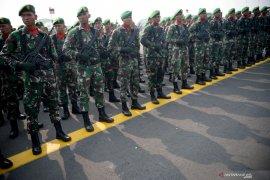 Apel Kesiapan Pasukan TNI Jelang Pelantikan Presiden dan Wapres Page 3 Small