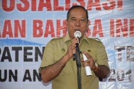 Sekdako buka sosialisasi penggunaan Bahasa Indonesia