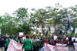 Sutarmidji apresiasi unjuk rasa mahasiswa berjalan tertib