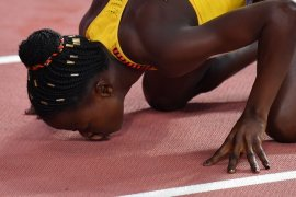 Halimah Nakaayi raih emas 800m putri