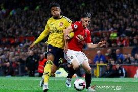 Liga Inggris, MU vs Arsenal berakhir imbang 1-1