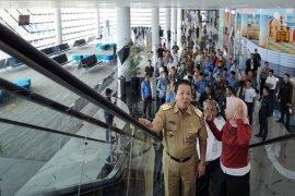 Jelang Kunjungan Presiden Jokowi, Gubernur Arinal Tinjau  Dermaga Eksekutif Bakauheni