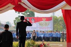 Wabup inspektur upacara hari kesaktian Pancasila