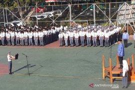 Siswa SMKN 1 Garut diberi pemahaman untuk menjaga Pancasila