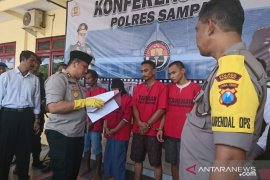 Polres Sampang tangkap lima pengedar narkoba, salah satunya ibu rumah tangga