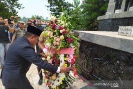 Gubsu pimpin upacara Hari Kesaktian Pancasila di Tugu Sudjono Simalungun