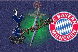 Prediksi Tottenham vs Bayern Muenchen di Liga  Champions