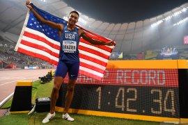 Pelari Donavan Brazier juara dunia 800 m putra