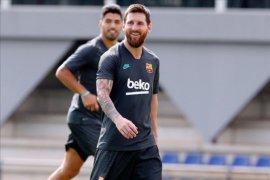 Liga Champions, Messi dan Dembele kembali berlatih jelang Barca jamu Inter