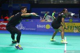 Ganda campuran pebulutangkis Indonesia menang