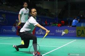 Ganda putri pebulutangkis Indonesia menang
