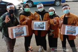 Mahasiswa Uniga salurkan bantuan untuk korban bencana kabut asap
