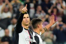 Diganti Dybala, Ronaldo tinggalkan stadion sebelum pertandingan usai