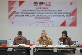 KPU: Rancang syarat calon kepala daerah tidak pernah lakukan KDRT