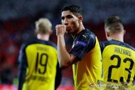 Liga Champions, Dortmund rebut tiga poin dari markas Slavia berkat dua gol Hakimi