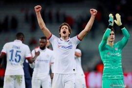Chelsea bawa tiga poin dari Lille