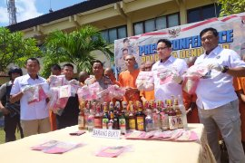 Polresta Denpasar ringkus puluhan pengedar dan pengguna narkotika