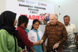 Dubes AS tinjau keberhasilan Ketapang kendalikan wabah rabies