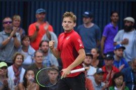 Petenis David Goffin capai perempat final Japan Open