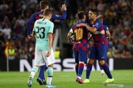 Setelah menang atas Inter Milan, Messi tegaskan Barcelona tetap kompak
