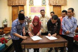 Bupati tandatangani NPHD dengan KPU