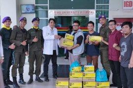 Tim UI Peduli gelar bakti sosial untuk korban Karhutla Riau
