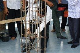 Wakil wali kota letakkan batu pertama pembangunan masjid