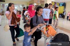 Warga Aceh di Wamena tiba di Aceh
