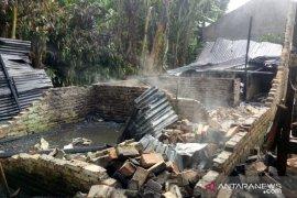 Kebakaran di Medan Helvetia, 7 rumah ludes terbakar