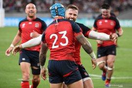 Piala Dunia Rugby - Inggris menjadi tim pertama yang melaju ke perempat final