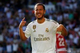 Hazard mengaku berat warisi nomor 7 di Real Madrid