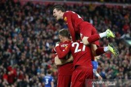 Hasil Liga Inggris, Liverpool atasi Leicester berkat penalti menit akhir
