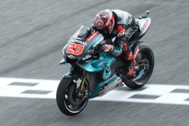 Quartararo klaim pole position GP Thailand