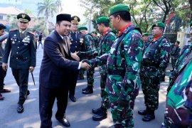 Wako apresiasi kerja TNI jaga keamanan Kota Tangerang sehingga kondusif