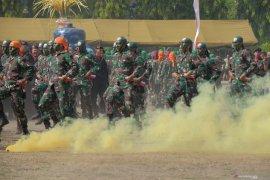 "HUT ke-74 TNI di Bali bertemakan ""TNI Profesional Kebanggaan Rakyat"""