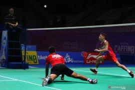 Wakil putra Indonesia terhenti semifinal Indonesia Masters 2019