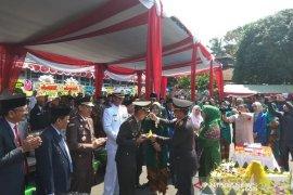 HUT ke-74 , TNI Bengkulu tampikan atraksi 'yongmoodo'