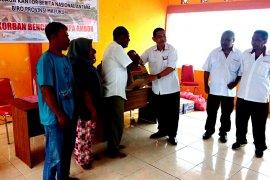 Perum Antara Maluku peduli korban bencana gempa Ambon di Morela