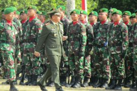Korem 045 Gaya siap wujudkan TNI yang profesional