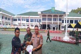 Di Papua, HUT Ke-74 TNI diperingati sederhana dan aman