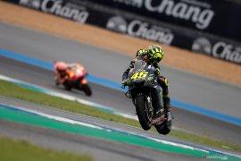 Akibat Terjatuh saat kualifikasi sebabkan start buruk Rossi di Thailand
