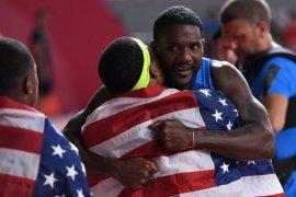 Kejuaraan dunia atletik, Justin Gatlin akhirnya sabet medali emas di Kejuaraan Dunia Atletik