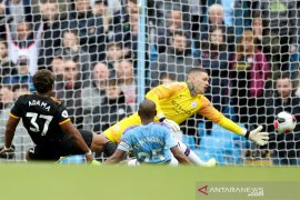 Manchester City dikalahkan tamunya Wolverhampton 0-2