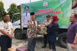 Pemerintah Aceh salurkan bantuan untuk korban puting beliung