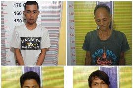 Empat tersangka pemilik sabu-sabu ditangkap polisi Langkat