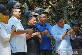 Menteri Pariwisata lepaskan anak burung maleo di TNBNW Gorontalo