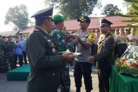 Jajaran Polres Tabalong silaturahmi ke Kodim 1008/Tanjung