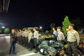 Polres Bangka Barat giatkan patroli di lokasi rawan