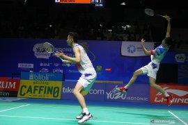 Pasangan dari China juara ganda putra Indonesia Masters 2019