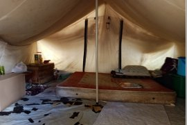 Setahun berlalu, ratusan KK korban gempa Palu masih di tenda pengungsian